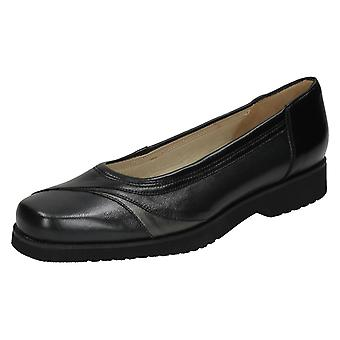 Ladies Nil Simile Leather Flat Loafer Shoes Barbados