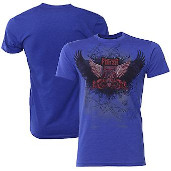 "Forza sport ""Soar"" MMA T-Shirt-Royal Blue"