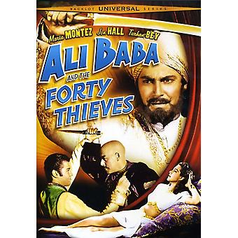 Ali Baba & S.U.A. Forty Thieves [DVD] importare