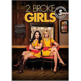 2 Broke Girls: Season 5 [DVD] USA import