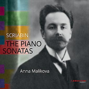 Scriabin / Malikova - Pno Sons [CD] USA import