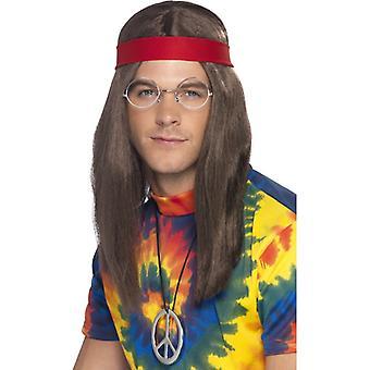 Hippie hippie kostium zestaw kostium flower power