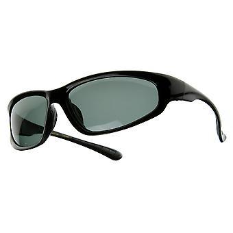 Duży owalny Premium spolaryzowane okulary sportowe ramki