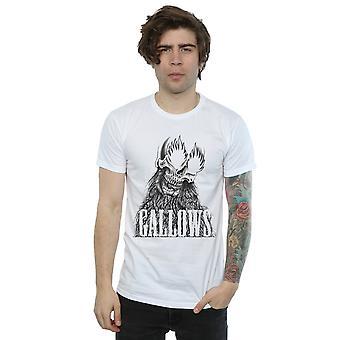 Gallows Men's Black Skull T-Shirt