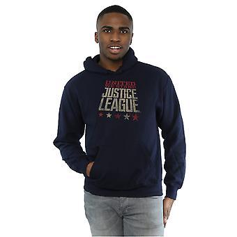 DC Comics mężczyzn sprawiedliwości ligi filmu Wielka stoimy Bluza z kapturem