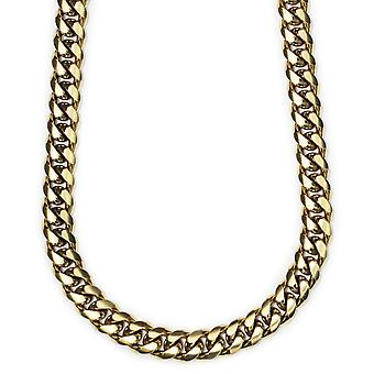 18k Gold Plated Miami Cuban Chain 12mm x 30 inches