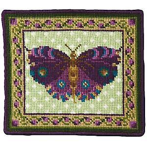 Purple Butterfly Kit Tapisserie