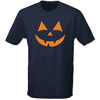 Ursprungliga skrämmande ansikte Halloween Fancy Dress Mens T-Shirt 10 färger (S-3XL) av swagwear