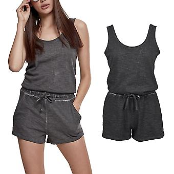 Urban classics ladies - COLD DYE short jumpsuit jumpsuit