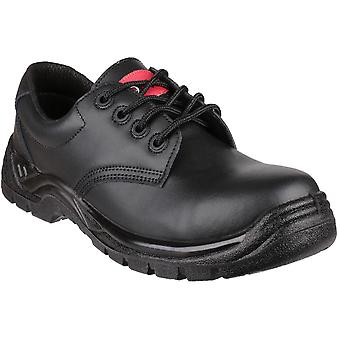 Centek Mens FS311C Lace Up Leather Safety Industrial Work Shoes