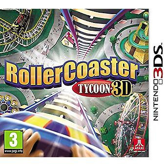Rollercoaster Tycoon 3D (Nintendo 3DS) - New