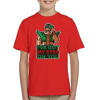 Waakzame ogen Tri Klops meesters van het universum Kid's T-Shirt