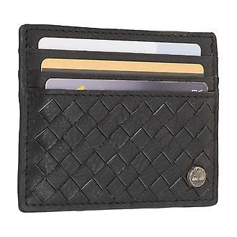 Timberland Herren Etui Kreditkartenetui Visitenkartenetui Ausweisetui Schwarz 7099