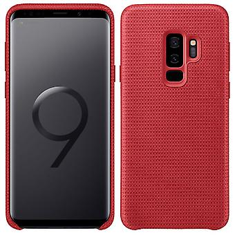 Samsung HyperKnit dekke EF GG965FREGWW for Galaxy S9 pluss G965F bag tilfelle rød
