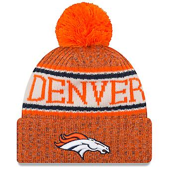 New era NFL sideline 2018 Bobble Hat - Denver Broncos