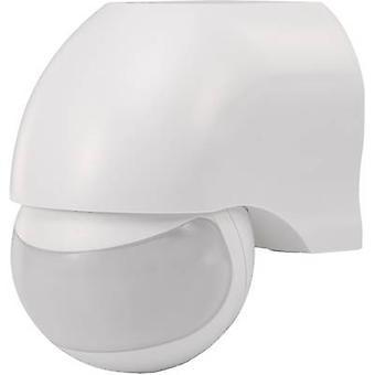 Surface-mount PIR motion detector Renkforce 160 ° Relay White IP44