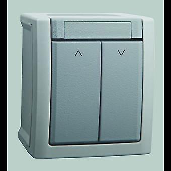 VIKO Wet room switch product range Shutter blind sensor Pacific Grey 90591016-DE