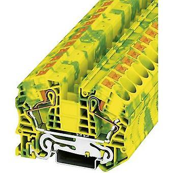 Phoenix Contact PT 16 N PE 3212147 Tripleport PG terminaalin nastojen määrä: 2 0,5 mm² 16 mm² vihreä-keltainen 1 PCs()