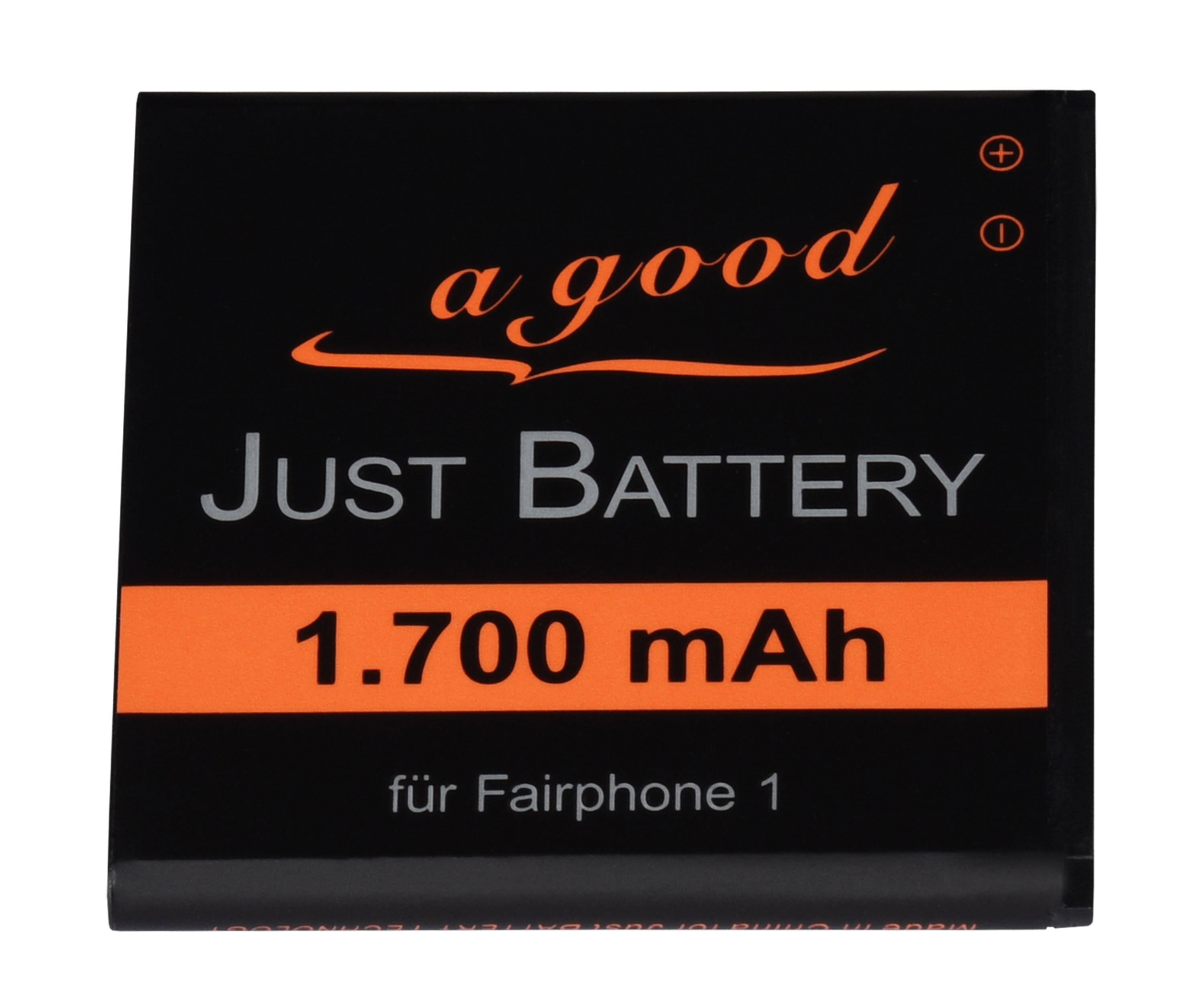 Battery and matching spacers for Fairphone 1