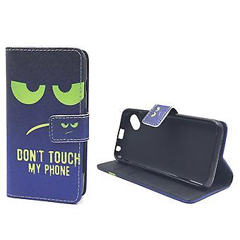 Mobiele telefoon geval zakje voor mobiele WIKO zonnige raak niet mijn telefoon groen