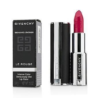 Le Rouge Intense Color Sensuously Mat Lipstick - # 302 Hibiscus Exclusif - 3.4g/0.12oz