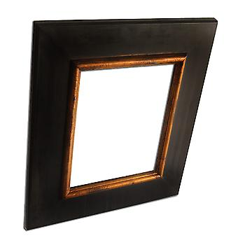 20x25 cm or 8x10 inch, photo frame in black