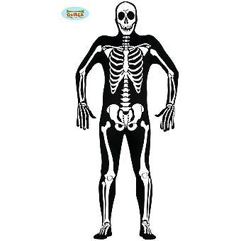 Mężczyźni stroje szkielet garnitur dla Halloween