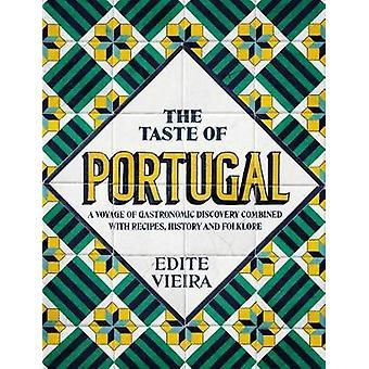 The Taste of Portugal by Edite Vieira - 9781911621188 Book
