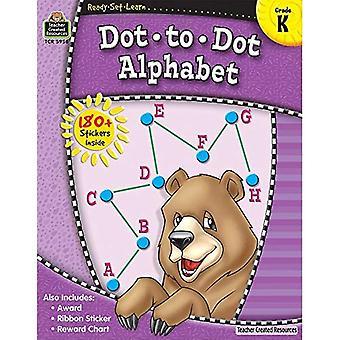 Alphabet de point-à-point, Grade K