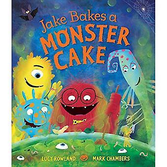 Jake fait cuire un gâteau monstre