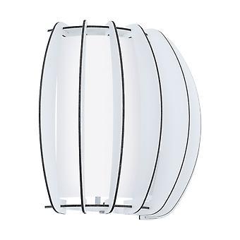 Eglo - Stellato 2 única luz de parede em revestimento branco EG95609