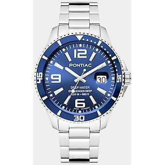 Pontiac Men's Watch Deep WaterP20035