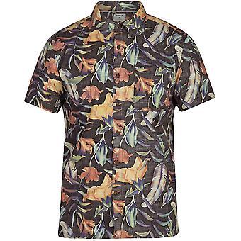 Hurley fat Cap Kortärmad skjorta i svart