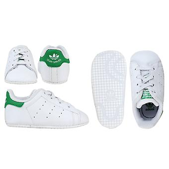 Adidas Originals Stan Smith Crib Baby Girl's Shoes - B24101