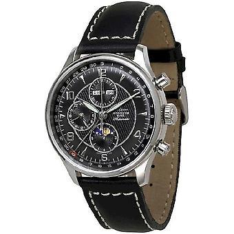 Zeno-Watch Herrenuhr Godat II Fullcalendar Chronograph 6273VKL-g1