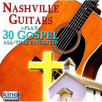 Nashville guitarer - 30 evangeliet All Time favoritter [CD] USA importerer