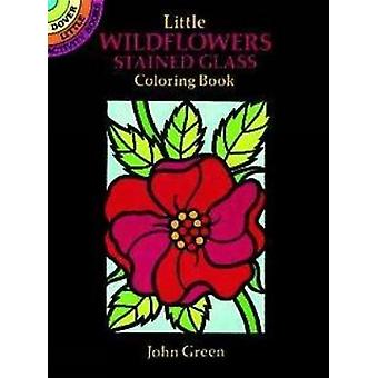Little Wildflowers Stained Glass Colouring Book - Dover Little Activit