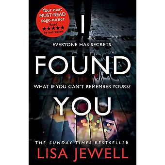 I Found You by Lisa Jewell - 9780099599494 Book