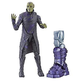 Kapten Marvel 6-tums Legends Talos skrull figur leksak