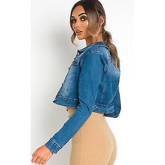 IKRUSH Womens Keira Denim Jacket