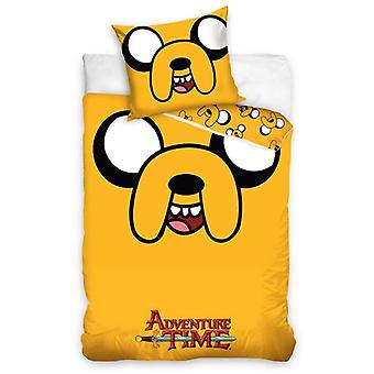 Adventure Time Jake Single Cotton Dekbed Cover Set - Europese maat