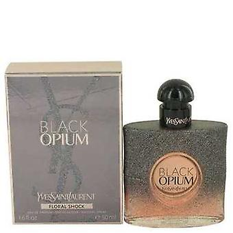 Black Opium Floral Shock Par Yves Saint Laurent Eau De Parfum Spray 1.7 Oz (femmes) V728-536797