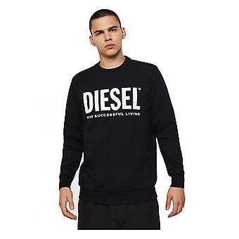Diesel S-gir Division Logo Sweat Schwarz