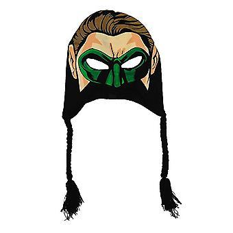 Ski Mask-DC Comics-Zöld lámpás Laplander hat új 266160