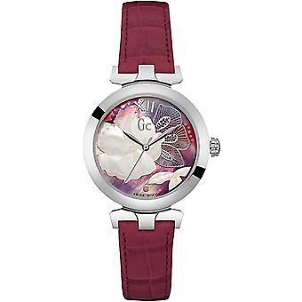 Gc watches ladybelle Swiss Quartz Analog Women's Watch with Cowhide Bracelet Y22005L3