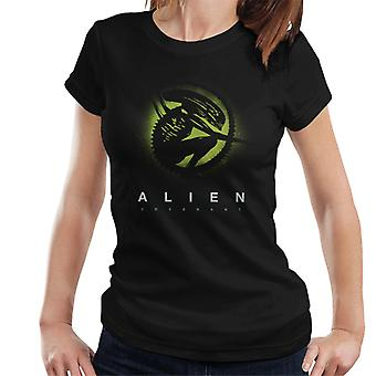 Alien Covenant Xenomorph Silhouette Women's T-Shirt