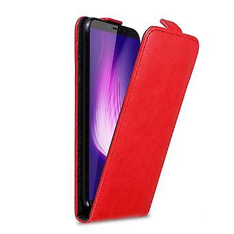 Cadorabo Case for Cubot Nova Case Cover - Phone Case in Flip Design with Magnetic Closure - Case Cover Case Case Case Case Book Folding Style