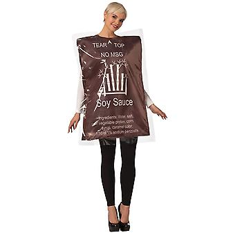 Soy Sauce Adult Costume