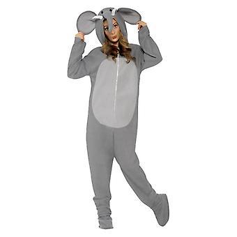 Gli adulti elefante Fancy Dress Costume