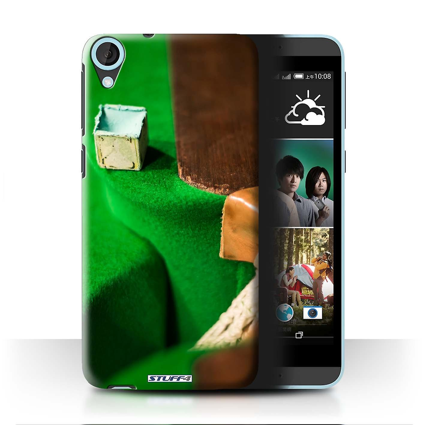 STUFF4 Case/Cover for HTC Desire 820s Dual/Chalk/Pocket/Snooker